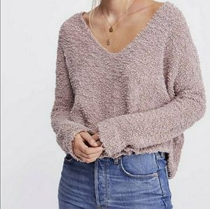NWT Free People Popcorn Pullover Sweater Large